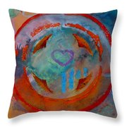 Landscape Seascape Throw Pillow
