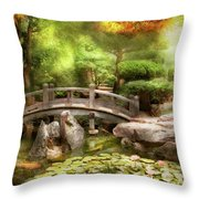 Landscape - Simply Paradise Throw Pillow