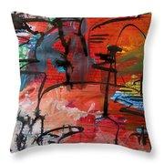 Landscape Sketch18 Throw Pillow