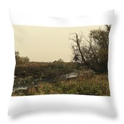 #landscape #stausee #mothernature #tree Throw Pillow