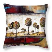 Landscape Vignettes-3 Throw Pillow
