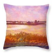Landscape With Island 008 01 01 2016 Throw Pillow