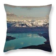 Landscapes Of Alaska Throw Pillow