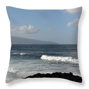 Landscapespanoramas018 Throw Pillow by Joseph Amaral