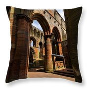 Lanercost Priory Throw Pillow