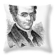 Langdon Cheves (1776-1857) Throw Pillow