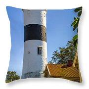 Lange Jan Lighthouse Throw Pillow