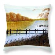 Langford Bay Throw Pillow