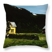 Langsund Throw Pillow