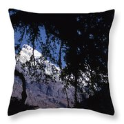 Langtang Throw Pillow