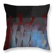 Languettes 02 - J122129076-f22b Throw Pillow