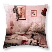 Languish Throw Pillow