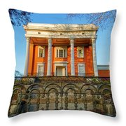 Lanier Mansion Throw Pillow