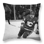 Lanny Mcdonald Throw Pillow