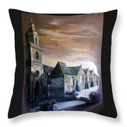 Lanrelas Church  Throw Pillow