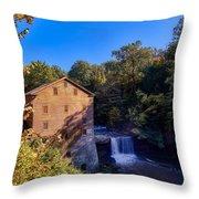 Lanterman's Mill Throw Pillow