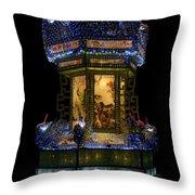 Lantern In The Dark Throw Pillow