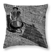 Lantern Shadow Throw Pillow