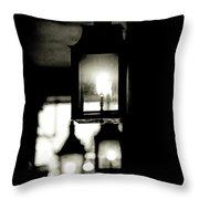 Lanterns Lit Throw Pillow by KG Thienemann