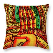 Offering, Lao Collection Throw Pillow