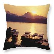 Laos, Luang Prabang Throw Pillow