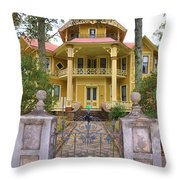 Lapham-patterson House Throw Pillow
