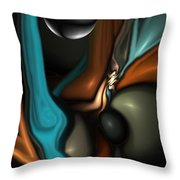 Lapidary Dream Revisited Throw Pillow
