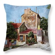 Lapin Agile Throw Pillow