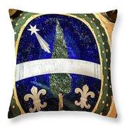 Lapis Lazuli Throw Pillow