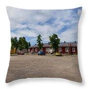 Lappeenranta Fortress Throw Pillow