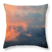 Wyoming Sunsets 2 Throw Pillow
