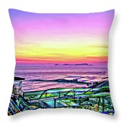 Larcomar Throw Pillow