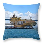 Large Banana Boat Throw Pillow