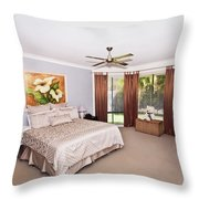Large Bedroom Throw Pillow