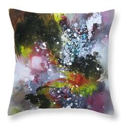 Large Color Fever Art23 Throw Pillow