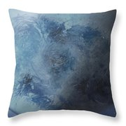Large Earth From Above Throw Pillow
