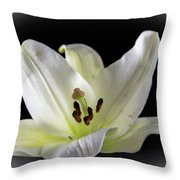 Large Lily-1 Throw Pillow