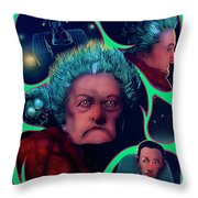 Large Marge Throw Pillow