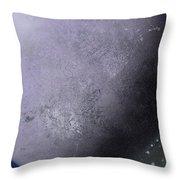 Large Purple Planet Throw Pillow