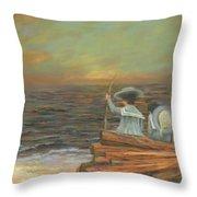 Little Mariners Throw Pillow
