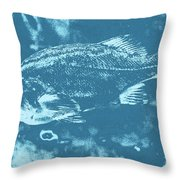 Largemouth Bass 8 Throw Pillow