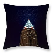 Largest Square Version Throw Pillow