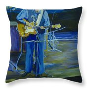 Larry Parypa From The Sonics Throw Pillow