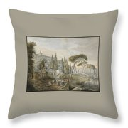 Lars Jacob Throw Pillow