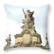 L'art At Grand Palais Throw Pillow