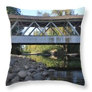 Larwood Bridge Throw Pillow