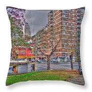 Las Heras Throw Pillow