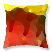 Las Tunas Ridge Throw Pillow