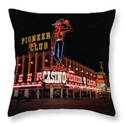 Las Vegas 1983 #1 Throw Pillow