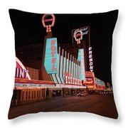 Las Vegas 1983 #4 Throw Pillow